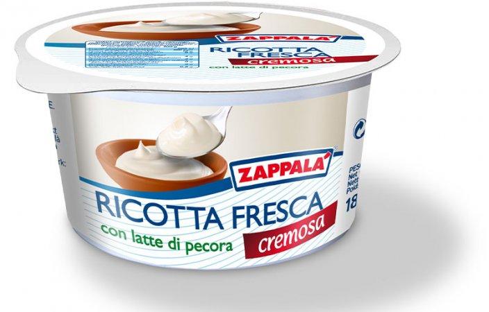 RICOTTA FRESCA C/LATTE DI PECORA 180 GR