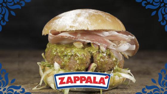 pistacchio burger zappalà
